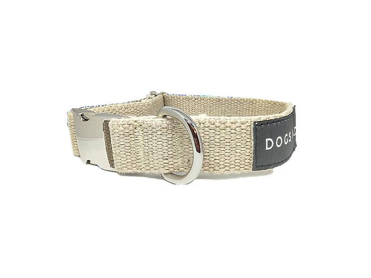 "Organic Hemp Dog Collar - Large 15-23""[1""width]"