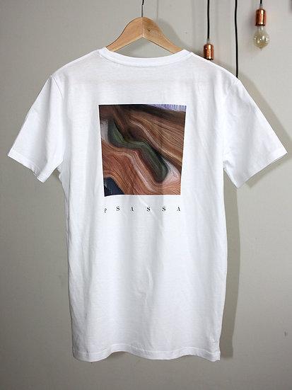 T-Shirt Auge Weiss
