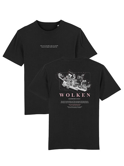 "T-Shirt ""Wolken"" Black"