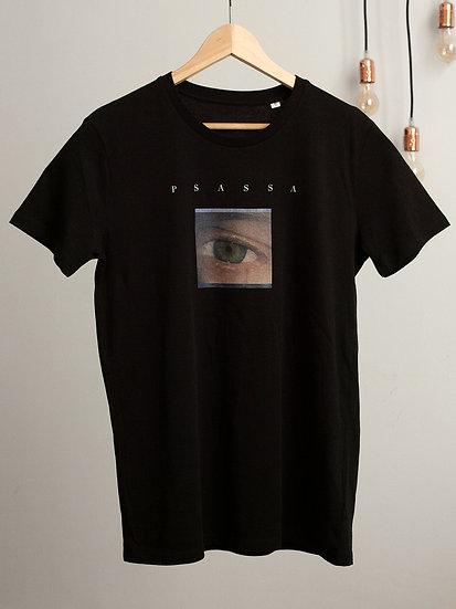 T-Shirt Auge Schwarz