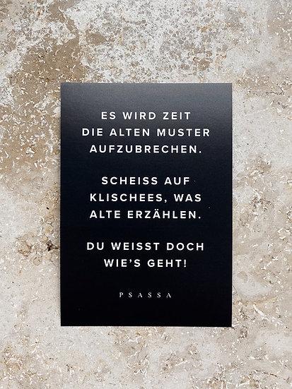 """10x Aufkleber """"Zeit"""""""