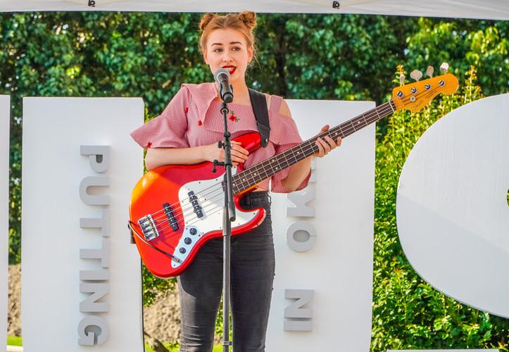 Photo: Kathryn Mann | At OKM Music Festival in Bartlesville OK