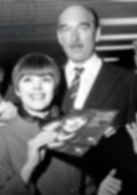 French Singer Mireille Mathieu With Prod