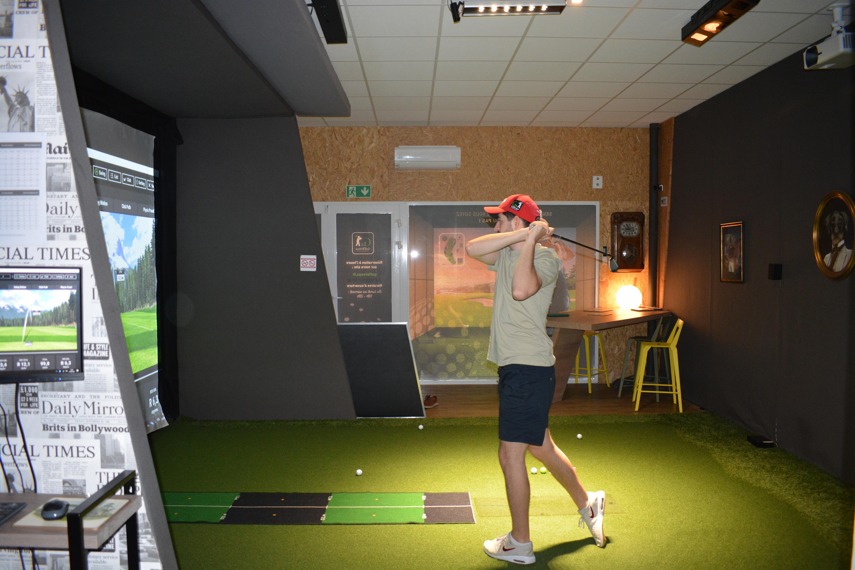Cours de golf avec un professionel