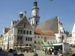 Marienplatz in Freising