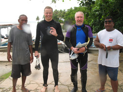 die Tauchtruppe v. Chuuk/Mikronesien