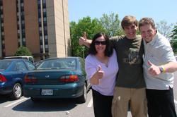 Diana, Johnathan und ich