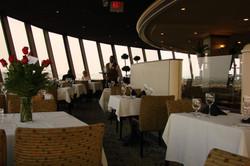Panoramarestaurant im Hotel