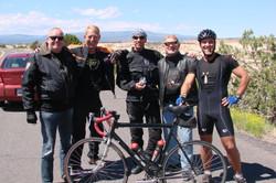 Bikerfreunde aus Holland & Bayern