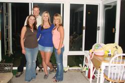 Crystal, Lindsey und Whitney