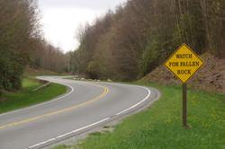 Steigungen am Highway 441