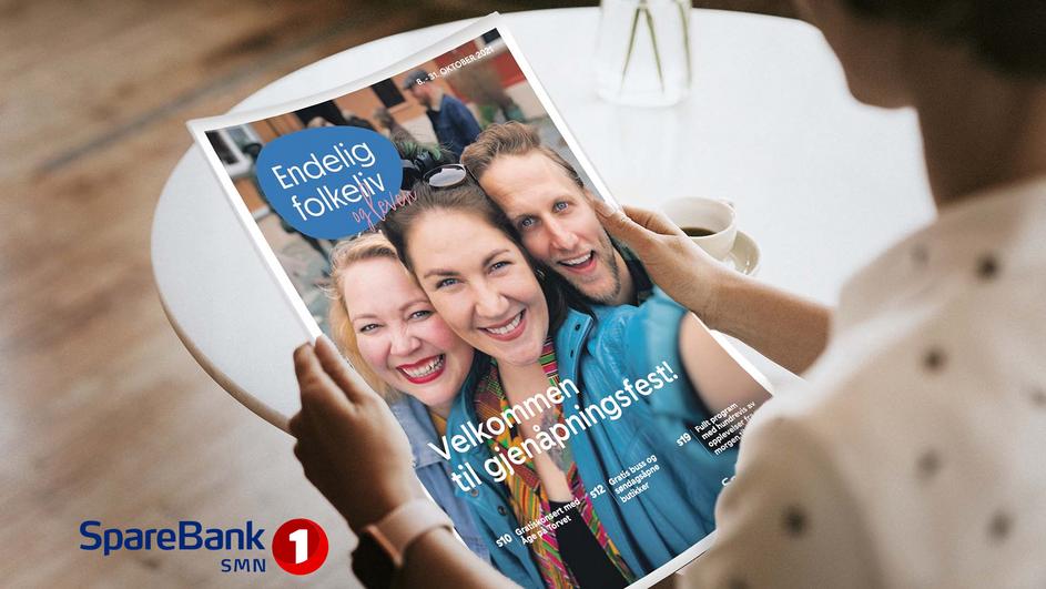 SpareBank 1 SMN Endelig Folkeliv: Trondheim Re-Opens!