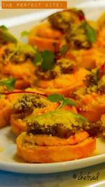 Mushroom & Apricot Parmesan Bites