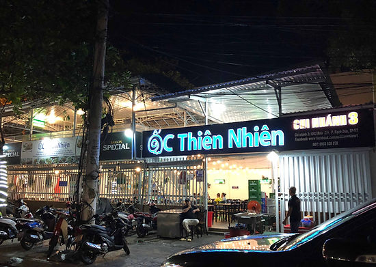 Ốc Thiên Nhiên Chi Nhánh Rạch Dừa
