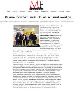 Camera Showroom Milano