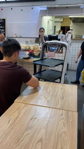New robot waiter demonstration site! Ayam Penyet Ria Noble Park VIC