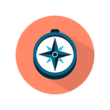 compass symbol starta foretag