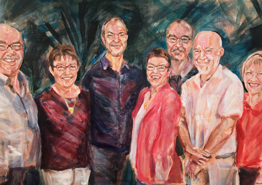 Commission for the Rudd family, 2019