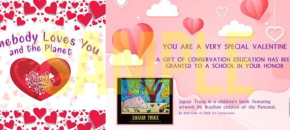 A Valentine Digital Certificate & Book Donation to a School