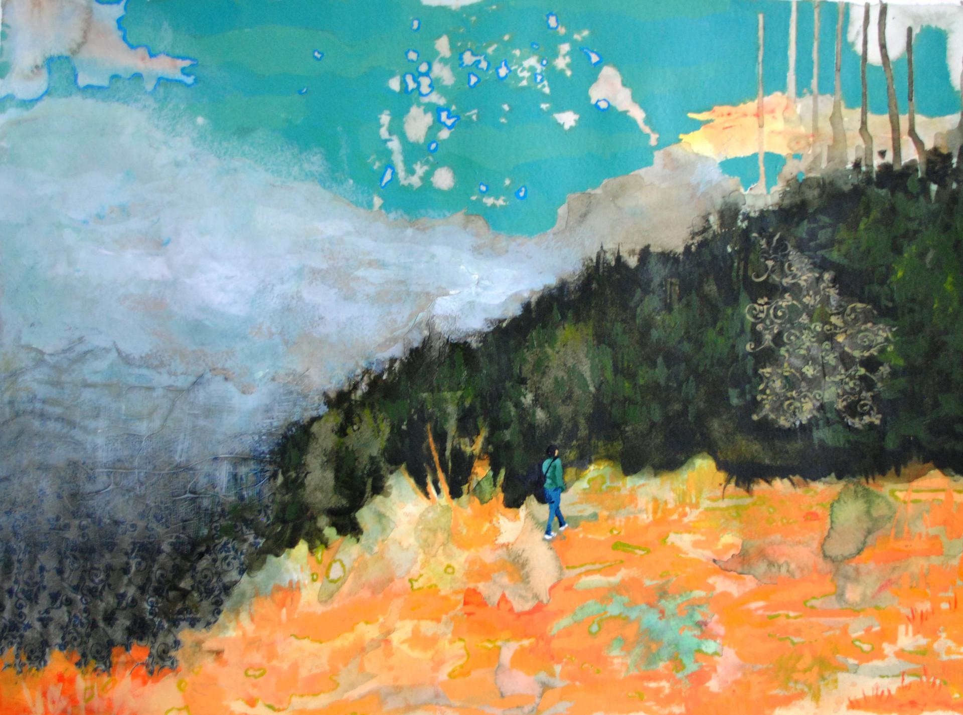 Técnica mixta sobre papel. 45 x 60 cm. 2013