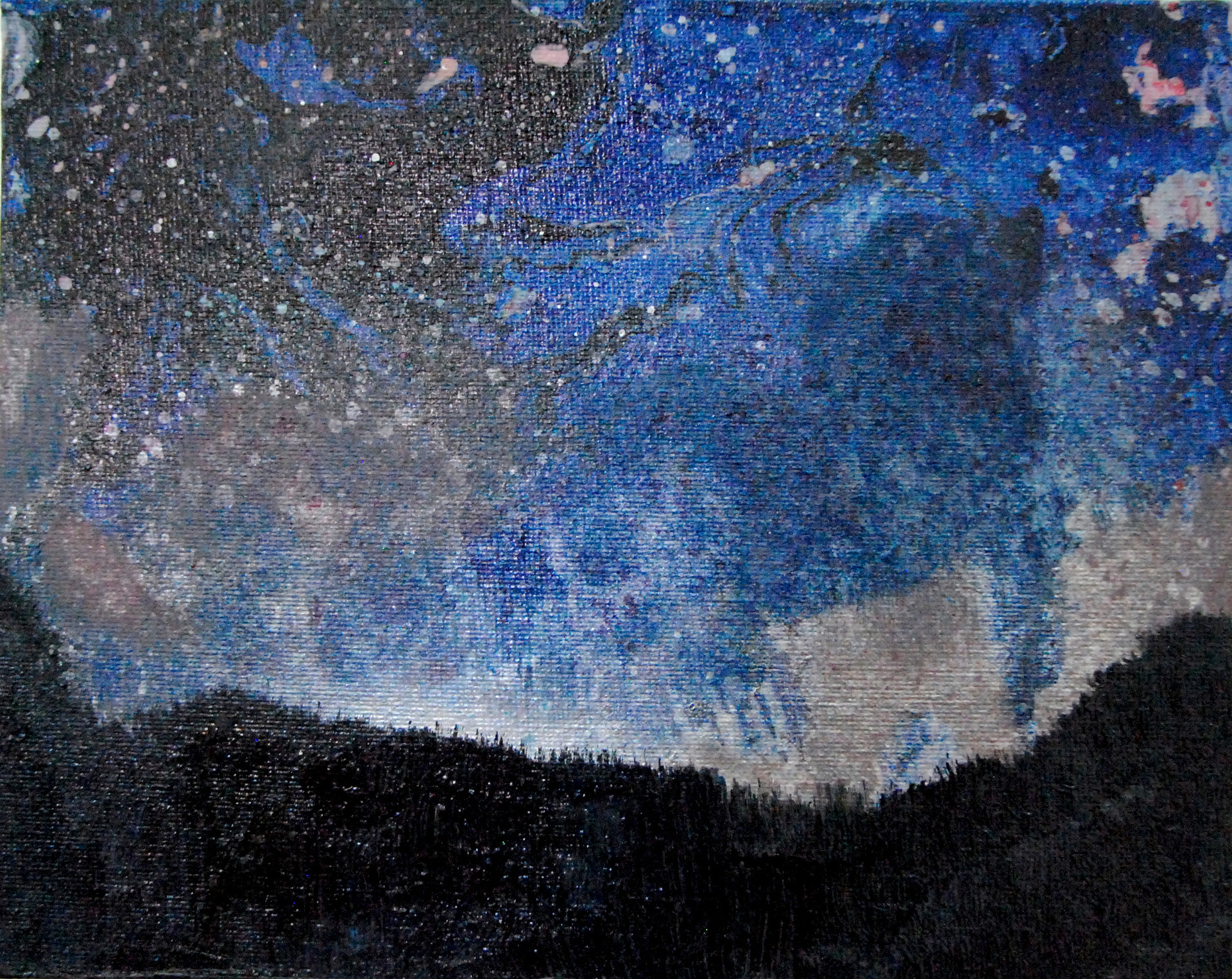 Técnica mixta sobre tela. 20 x 25 cm. 2013
