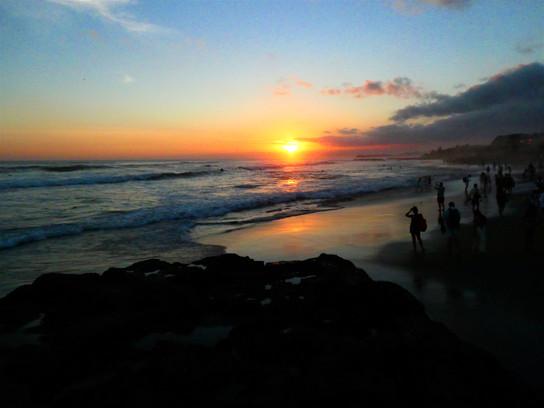 Sonnenuntergang in Canggu