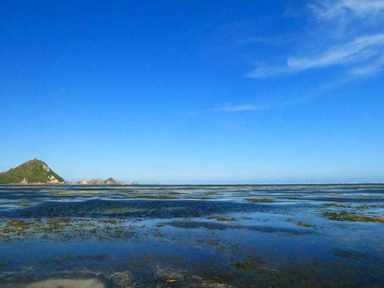 Strand in Kuta selber