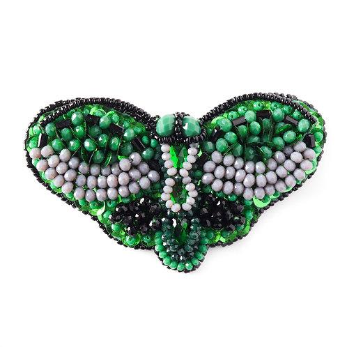 Zeleni broš/ogrlica