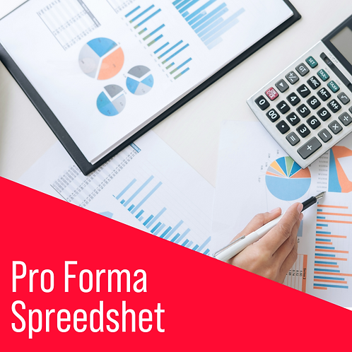 The Bible - Pro Forma Spreadsheet