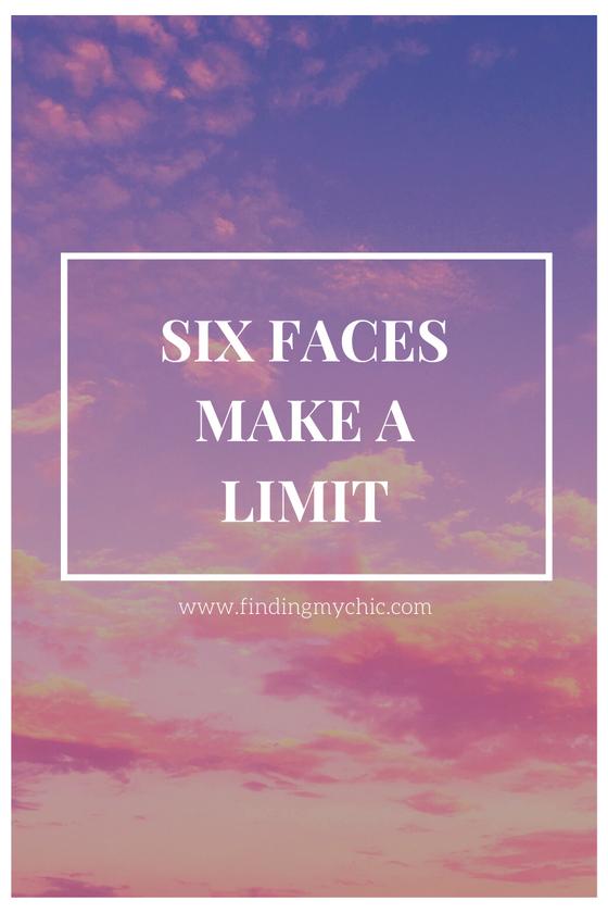 Six Faces Make A Limit