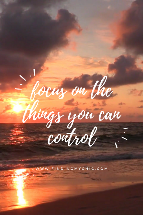 The Things I Can Control