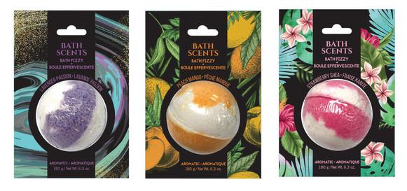 Bath Scents Bath Bombs