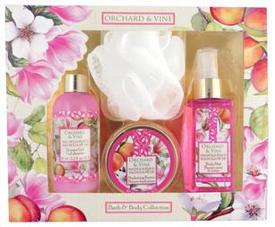 Magnolia Peach Bath + Body Collection