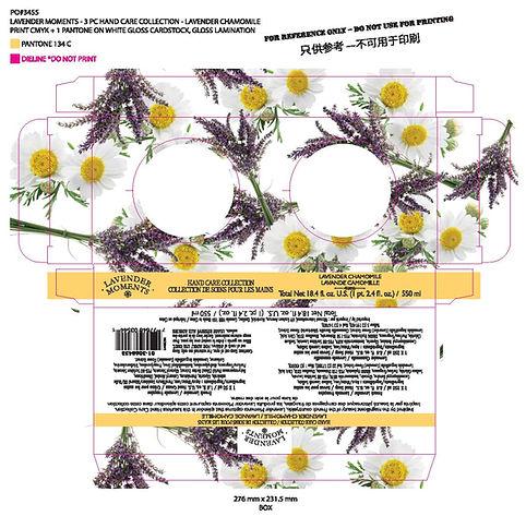 Lavender Moments 3 pc Hand Care Collecti