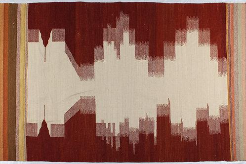 Wool Dhurrie #S11