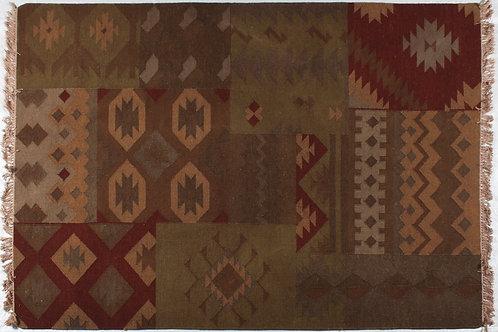 Wool Dhurrie #S18