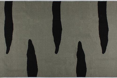 Wool tapis geometric