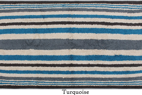 Cotton Firm Tufted Stripes