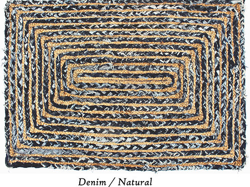 Hemp & Chindi Rugs - CJ 8036