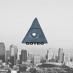 GOTEO Logo. with background