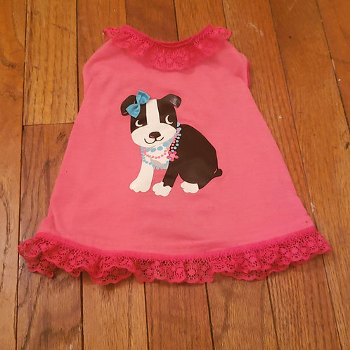 Upcycled puppy dress
