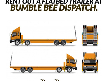 Rent A Flatbed Trailer With Bumble Bee