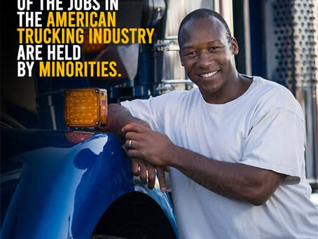 More Than 40% of Jobs In The American Trucking Industry Are Held By Minorities