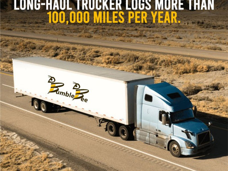 The Average Trucker Logs More Than 100,000 Miles Per Year