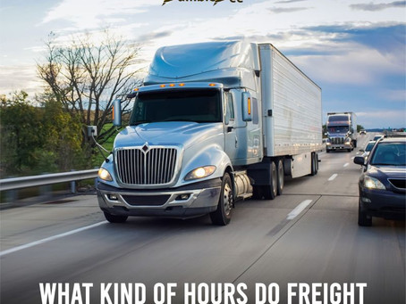 What Hours Do Freight Brokers Work?