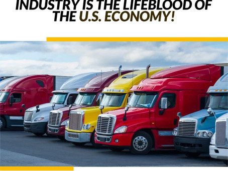 America's Trucking Industry Is The Lifeblood of the USA