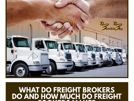 What Do Freight Brokers Do and How Much Do Freight Brokers Make?