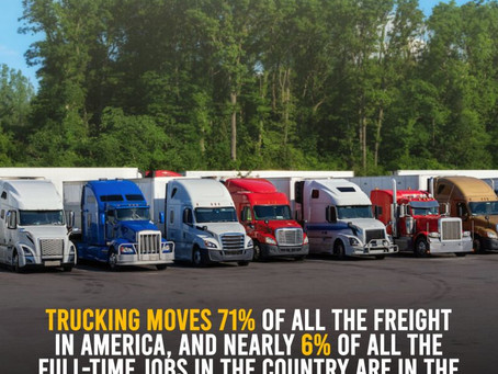 Trucking Moves 71% Of All Freight In America
