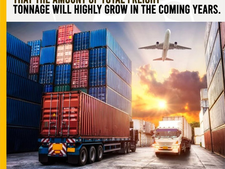 Freight Tonnage Will Increase Over The Next Few Years