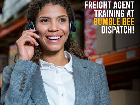 Online Freight Agent Training At Bumble Bee Dispatch!